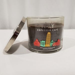 "Bath & Body Works 🇮🇹 ""Italy"" Expresso Candle"